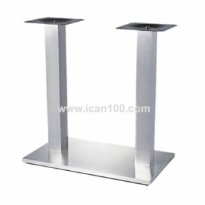 Restaurant Double Column Aluminum Table Legs (TB-16) pictures & photos