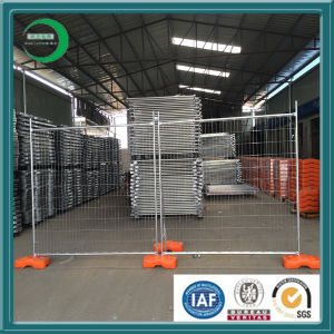 Hot Temporary Fence Base Polymer Materials pictures & photos