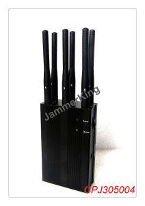 6 Antenna 3G 4G Cell Phone & Lojack Jammer; Portable 3G 4G Cell Phone Jammer & WiFi Jammer pictures & photos
