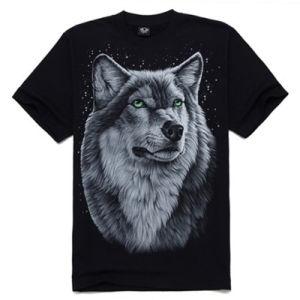 Fashion 3D Printed Men T-Shirt (ZT019) pictures & photos