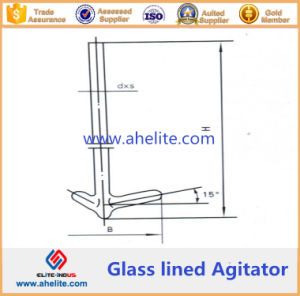 Impeller Type Glass Lined Agitator pictures & photos