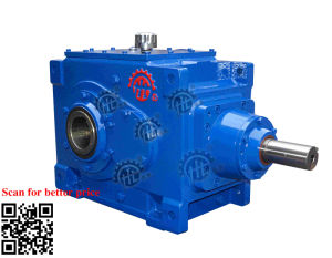 B2hh10 Series Industrial Right Angle Vertical Type Bevel Gear Unit