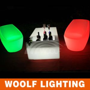 LED Lighting Party Bar Table with Cooling Pot pictures & photos