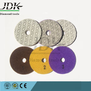 Super Qualtiy 3 Steps Granite and Marble Polishing Pads pictures & photos