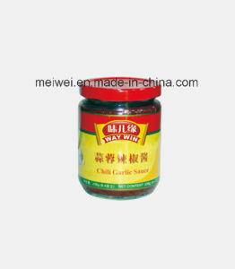 238g Garlic Chili Sauce in Glass Bottle pictures & photos
