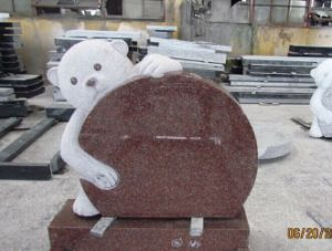Teddy Bear Crafts Granite Tombstone/Monument pictures & photos