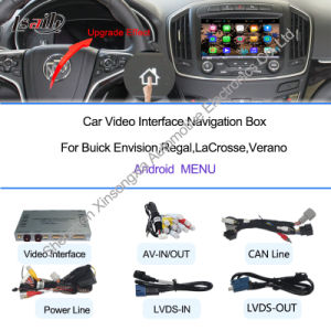 Car Navigation and Multimedia Kit for Buick Regal on Android 4.2/4.4 pictures & photos