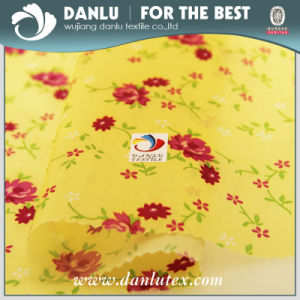 PU Coated and Printed Taffeta Fabric for Bag pictures & photos