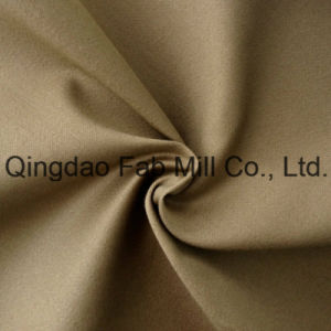 Cotton Spandex Solid Fabric (QF13-0233) pictures & photos