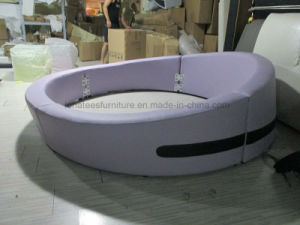 Cy004 Round Platform Bed For Bedroom