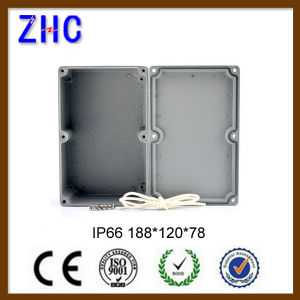 188*120*78 Custom Junction Box Price IP66 Waterproof Outdoor Enclosure Electronic DIY Aluminium Project Box pictures & photos