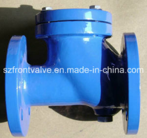 Cast Iron/Ductile Iron Flanged Ball Check Valve pictures & photos