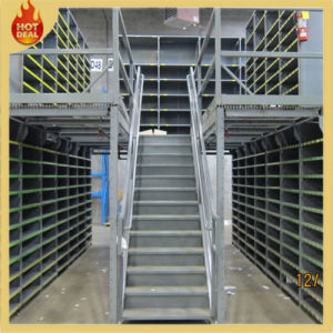 Metal Adjustable Warehouse Mezzanine Floor Rack pictures & photos