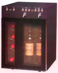 6 Bottles Wine Cooler/Wine Dispenser/Wine Chiller/Wine Cellar/Wine Cabinet (SCJ-24SXA) pictures & photos