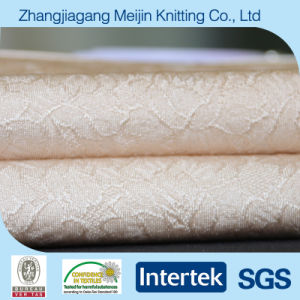 Nylon Spandex Jacquard Elastic Stretch Fabric for Lingerie and Fashion (MJ5010)