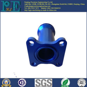 Customized Steel CNC Machining Blue Zinc Coating Parts pictures & photos