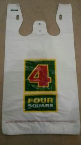 Shopping Bag, Supermarket Bag, T-Shirt Bag, Printed Bag, Plastic Bag pictures & photos