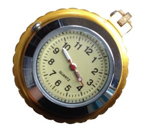Motorcycle Handlebar Phone USB Charger with Clock (compass) pictures & photos