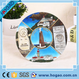 Customized Polyresin Suvenir Plate for Home Decoration pictures & photos