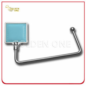 Promotional Gift Nickel Plated Square Design Metal Bag Holder pictures & photos