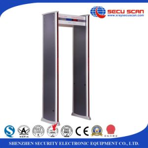 LCD display Indoor use Archway Metal Detector with maximum 18 zones pictures & photos