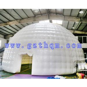 Double White PVC Inflatable Tent/Arc Bubble Inflatable Tent pictures & photos