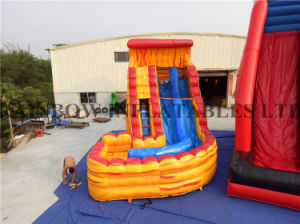 Rb6083 4.5X7m Fire Cheap Inflatable Commercial Water Slides for Sale pictures & photos