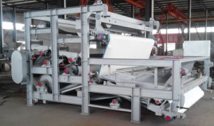 Belt Press Pressure Filter Double Wire Thickener pictures & photos