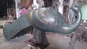 The Peacock, Outdoor Garden Ornament Decorative Bronze Sculpture pictures & photos