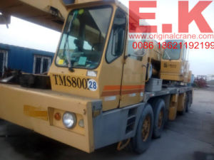 80ton Used Grove Hydraulic Truck Mobile Crane (TMS800B) pictures & photos