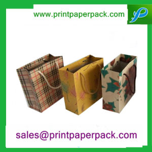 Custom Printed Paper Carrier Bags with Twisted Handles pictures & photos