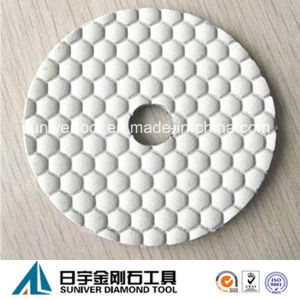 "4"" Professional Dry Polishing Pads for Stone Generation 1 pictures & photos"