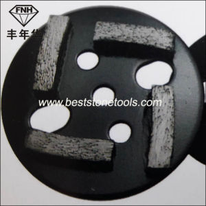 CD-45 Metal Bond Diamond Floor Pad 4 Seg Grinding Concrete