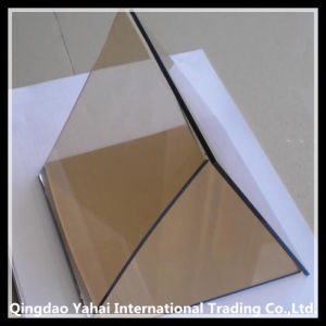 4mm Decorative Dark Brown Float Glass pictures & photos