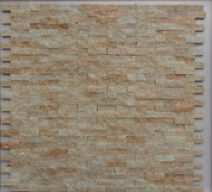 Natural Stone Slate Mosaic for Bathroom or Kitchen Wall pictures & photos