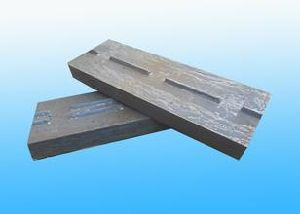 China Supplier High Chromium Cast Steel Plate Hammer for Impact Crusher pictures & photos