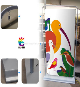 Strong and Durable Steel Banner Stand with Graphics Display (SU-RB) pictures & photos