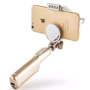 Factory Directly Sale Selfie Stick with Power Bank pictures & photos