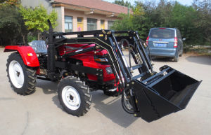 35HP 4WD Farm Tractor with Front End Loader pictures & photos