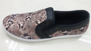 Factory Man New Printing Canvas Shoes (WH1073)