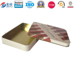 Cusomized Food Grade Decorative Boxes Wholesale Antique Tin Bread Box for Cookies Packaging Jy-Wd-2016011805 pictures & photos