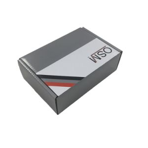 Matt Grey Custom Designed Corrugated Shipping and Packing Box pictures & photos