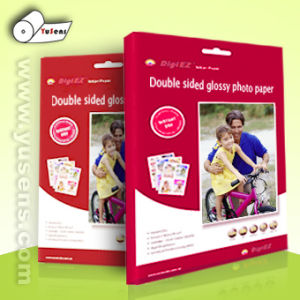 220GSM Double Sided Glossy Inkjet Photo Paper pictures & photos