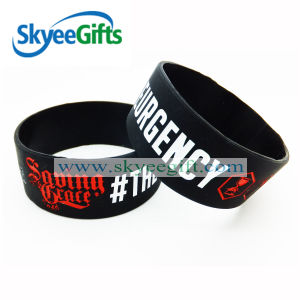Bulk Cheap One Inch Silicone Wristbands pictures & photos