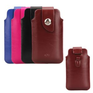 Universal Soft PU Mobile Phone Pouch