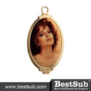 Gold Necklace (Ellipse) (TXL03OG) pictures & photos