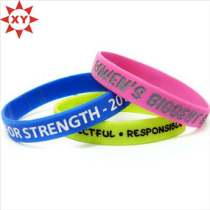 Inspirational Sayings Bracelets Assorted Colors pictures & photos