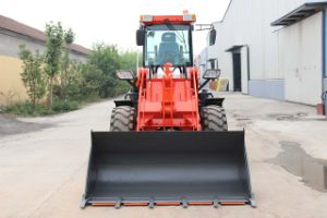 2 Ton Hydraulic Transmission Wheel Loader with CE pictures & photos