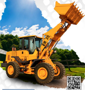 Everun CE Approved Er35 Wheel Loader Front End Loader with Standard Bucket pictures & photos