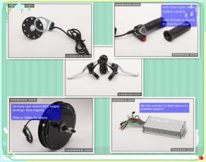 Ebike DIY Kit 48V 750W Front or Rear Wheel Conversion Kit for Ebike pictures & photos